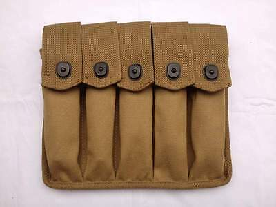 WWII US Amry Thompson Magazine Pouch 5 Cell 30 Rounds - US052