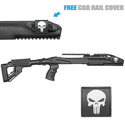 Fab Defense Stock Kit For Ruger 10/22 w/ Aluminum Rail - UAS R10/22 PRO PNSH