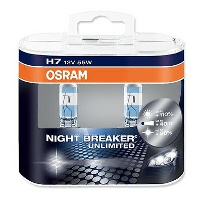 NEU OSRAM NIGHT BREAKER UNLIMITED/LASER ALLE TYPEN VERKAUF! FROM +110% to +130%