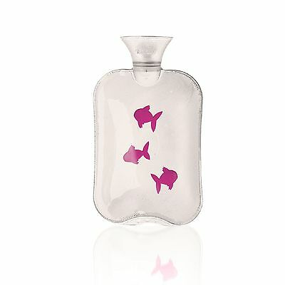Fashy Hot Water Bottle Transparent Floating Fish