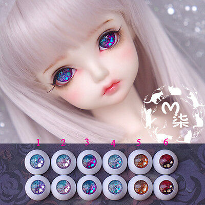 14mm/16mm Bling-bling Stars Acrylic Eyes 6 Color For BJD AOD Dollfie Eyes Outfit