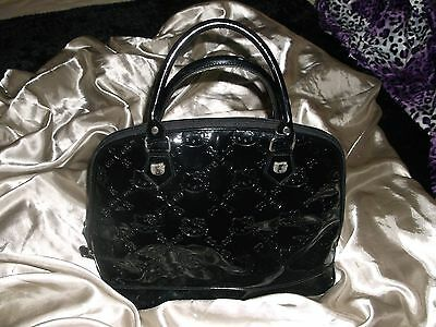 Black Hello Kitty Hand Bag