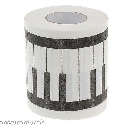 Novelty Piano Keyboard Toilet Paper / Printed Napkin Paper / Home Toilet Paper
