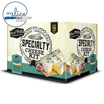 Mad Millie Specialty Cheese Making Kit - Camembert, Blue Vein, Stilton, Brie