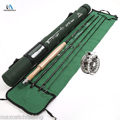 Fly Rod And Fishing Fly Reel Combo 2wt 6.5FT