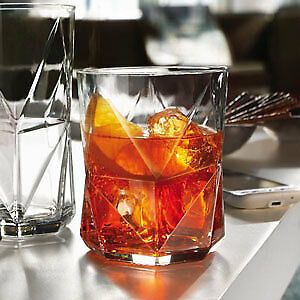 Cassiopea Double Old Fashioned Glasses 410ml - Set of 4 - Whisky Rocks Tumbler