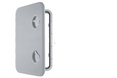 MARINE ACCESS BOAT DECK INSPECTION HATCH 315mm x 440mm WHITE motorhome yacht