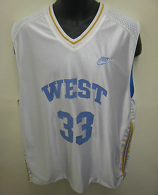 NIKE Mens Reversible Basketball Jersey Vest Maillot #33 NBA West Coast L XL