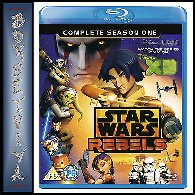 Star Wars Rebels - Complete Season 1 **brand New Blu-Ray Region Free*