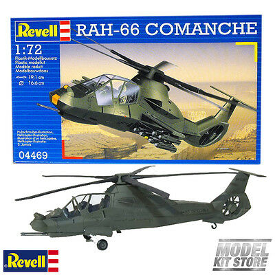 RAH 66 Comanche - 1/72 Revell Military Helicopter Model Kit #4469 NEW