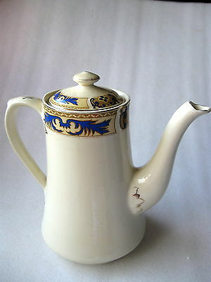 WOOD'S IVORY WARE ENGLAND COFFEE POT Vintage
