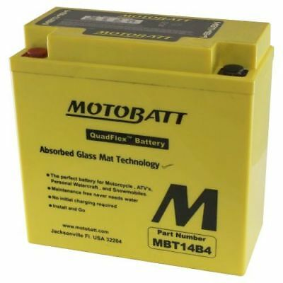 Motobatt Battery For Yamaha Roadiner, Raider, Stratoliner 1854cc 06-14