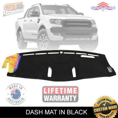 DASH MAT FORD RANGER PX WILDTRACK MARK 11 in BLACK 6/2015-ON DM1403 MK11