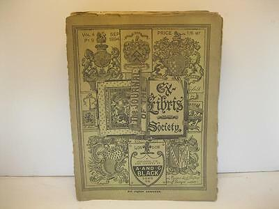 The Journal Of The Ex Libris Society