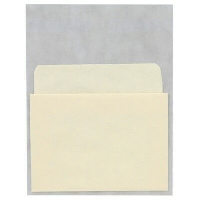 Library Book Pockets- Self-Adhesive - Economy Low Back- 500pk