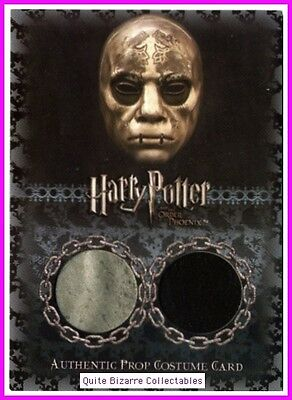 Death Eater Mask Rare Prop Cards P7 P8 P9 P10 P12 Harry Potter Order Phoenix OP
