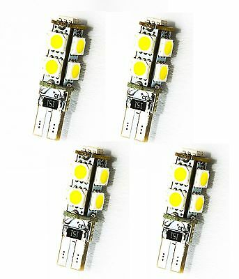 4 x Stück T10 W5W 9 SMD LED CANBUS Standlicht  XENON WEISS SOFFITE LONG LIFE NEU