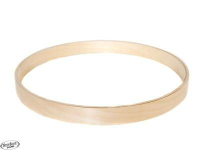 18″ Bass Drum Hoop – 100% Birch – Natural Unfinished Wood