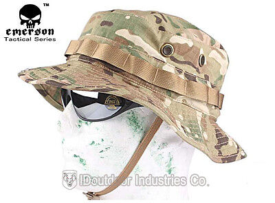 Tactical Boonie Hat EMERSON Military Duty Anti-scrape Fabric MultiCam Camo 8553
