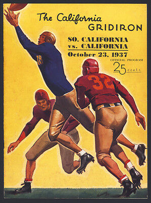 1937 California Bears Program. Autographed by 40 players. National Championship!