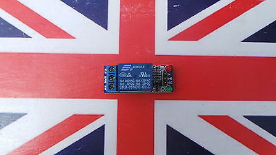 UK stock 1 Channel 5V Relay Module Board Shield For PIC AVR DSP ARM MCU Arduino