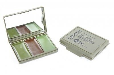 Camouflage / Cam Cream - Tropical 3 Colour By Camtech - No Irritants, Military