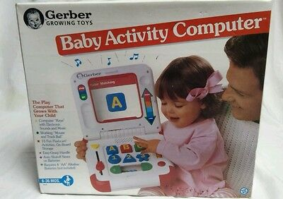 Vintage Baby activity computer by Gerber 1994