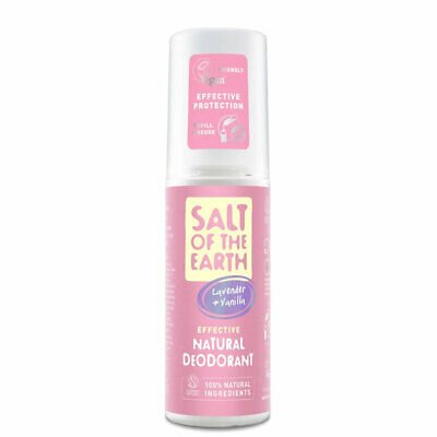 Salt Of The Earth Pure Aura Natural Dedorant Spray For Girls - Lavender/ Vanilla