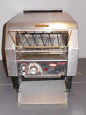 Hatco Toaster Qwik Toast TQ-800H Commercial Conveyor Bread Muffin Bagel