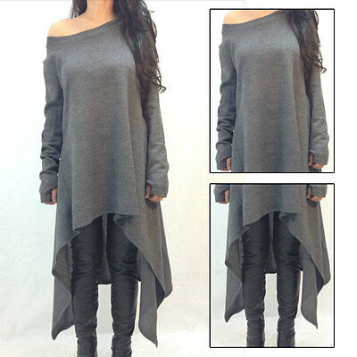 New Women Casual BOHO Top Blouse Chic Long Evening Party Cocktail Maxi Dress