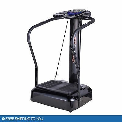 2018 Fitness Whole Body Vibration Plate Trainer Machine 2000W Home GYM Sports