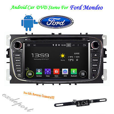Android 4.4 Car DVD Player GPS Navi Stereo For Ford Focus Mondeo S-max Galaxy