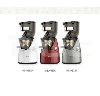 [NUC] Kuvings Whole Slow Juicer WSJ-962K Natural & Premium (Dark Red)/240W