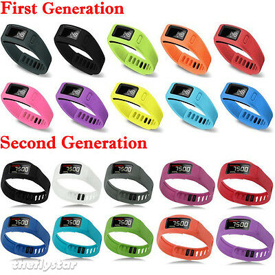 L&S MultiColor Replacement Wrist Bracelet Band Clasp for Garmin Vivofit 1/2 New