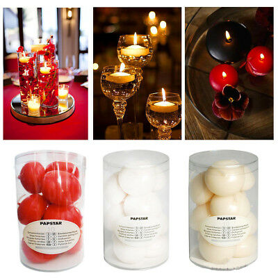 Floating Candles Unscented Water Tea Light Pack Candle Party Home Decor Romantic