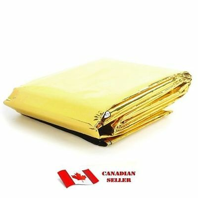 New Outdoor Survival Blanket (210 x 160cm) Camping Hiking Emergency