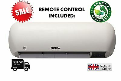 Futura Commercial Over Door Fan Heater Air Curtain Remote Control Home shop