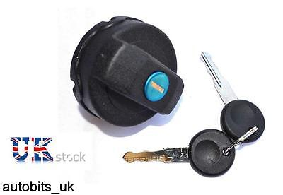 Fuel Petrol Locking Tank Filler Cap + 2 Keys Lockable Vw Lupo Beetle Polo Caddy