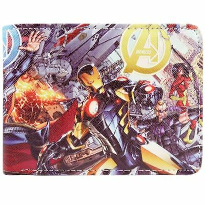 New! Marvel Age Of Ultron Avengers Characters Bi-Fold Wallet