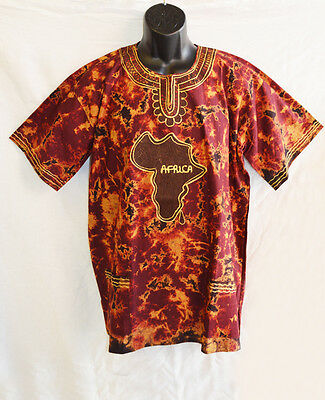 Handmade Traditional Africa Shirt Ltd Edition One Off Design Roots & Culture 15