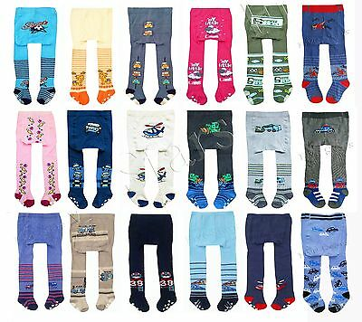 Baby Toddler Infant Boy/Girl Cotton Tights Anti Slip Leg Warmers 0-12-24 months