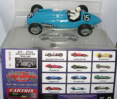 Cartrix 0915 Talbot Lago  #15  Louis Rosier  Lted.ed.  Mb