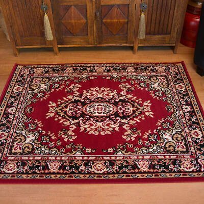 60x220cm Runner Traditional Floor Rug RED Persian Oriental Style Mat 7135