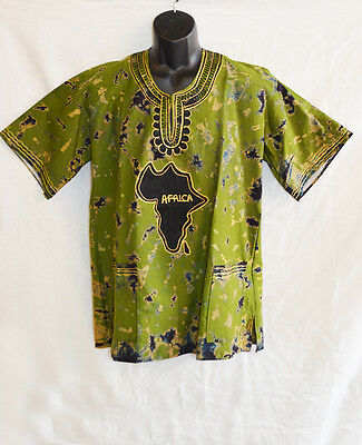 Handmade Traditional Africa Shirt Ltd Edition One Off Design Roots & Culture 12