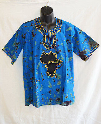 Handmade Traditional Africa Shirt Ltd Edition One Off Design Roots & Culture 06