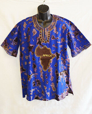 Handmade Traditional Africa Dashiki Shirt - One Only - Roots & Culture (07)
