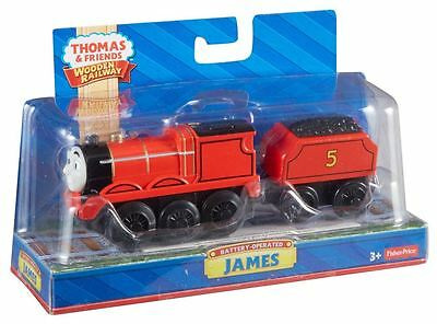Thomas & Friends Wooden Battery Operated James Train Y4111 - Magnetic Railway