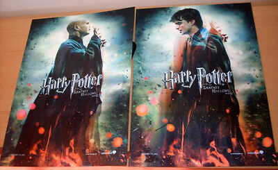 Cinema Poster: HARRY POTTER DEATHLY HALLOWS Part 2 2011 (Lenticular Promo)