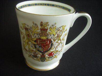 Prince Of Wales ~Investiture ~1969 ~Aynsley ~Collector's Mug