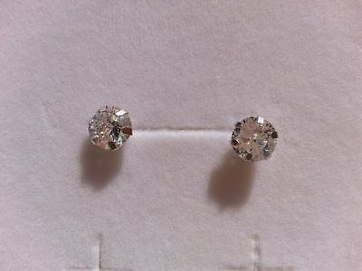 Orecchini donna Punto Luce oro18 kt bianco e zirconi Earrings Gold